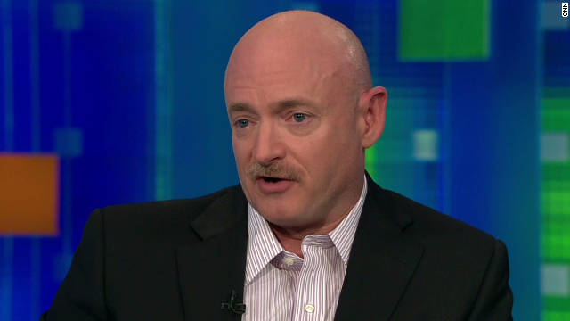 Mark Kelly on Sarah Palin's target
