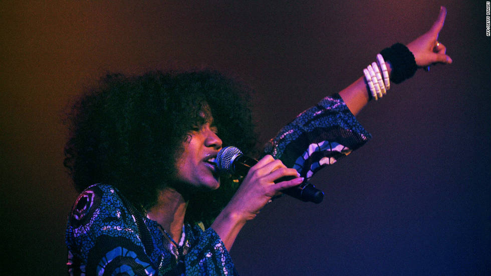Nigerian singer songwriter, Nneka, says she only started singing in 2005. She has since made up for lost time;  winning a MOBO award in 2009 and touring with the likes of Nas and Damien Marley.