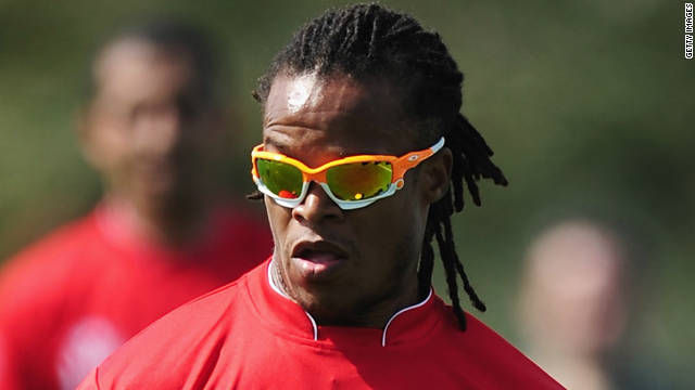 Edgar Davids in action during the Laureus Football Challenge presented by IWC Schaffhausen as part of the 2011 Laureus World Sports Awards at the Emirates Palace on February 7, 2011 in Abu Dhabi, United Arab Emirates