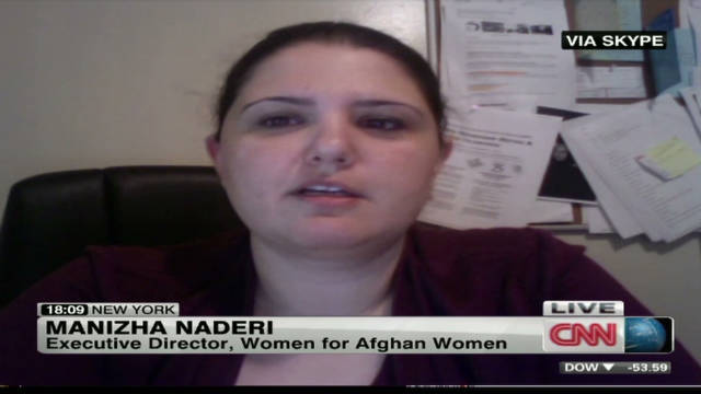 Women's rights advocate on Afghan rape