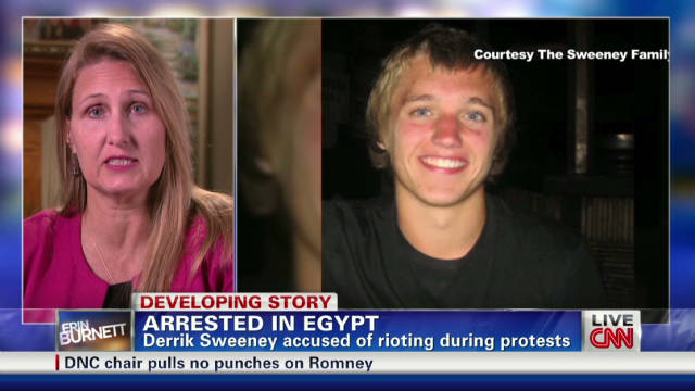 American teen arrested in Egypt