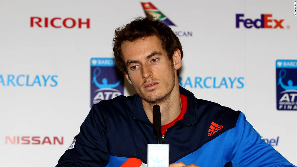 World No. 3 Andy Murray was a forlorn figure as he announced that he had to pull out after only one match due to a groin injury. The withdrawal of the tournament's only British player was a blow for sponsors and organizers alike.