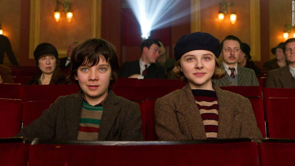 """Hugo,"" directed by Martin Scorsese, stars young actors Asa Butterfield and Chloë Grace Moretz, whose characters embark on an adventure in 1930s Paris."