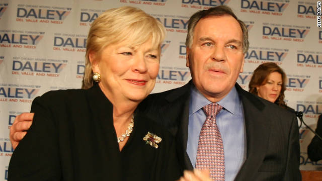 Maggie Daley, seen here with her husband, former Chicago Mayor Richard Daley in 2007, was 68.