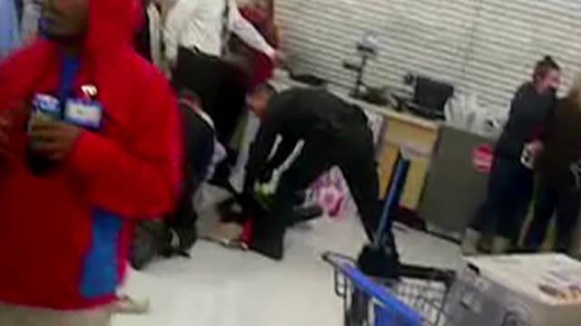 Man arrested, Tased at Walmart