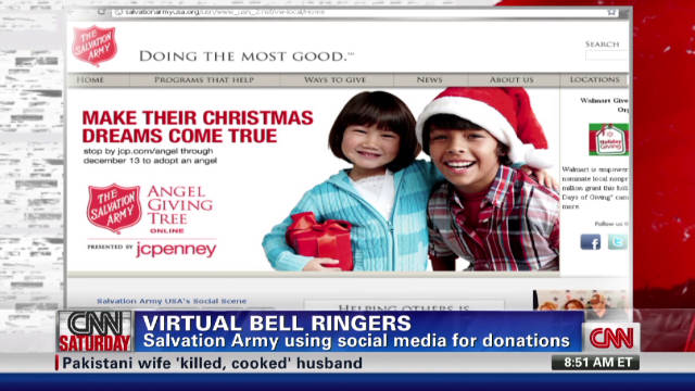 Salvation Army embraces social media