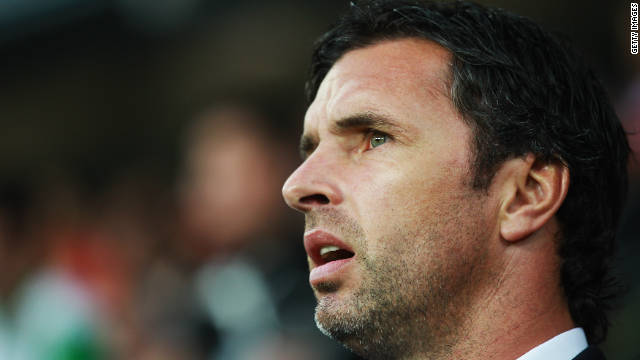 Gary Speed played 85 times for Wales and took over as national coach last year.