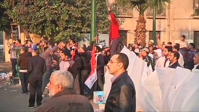 Protests carry on in Egypt