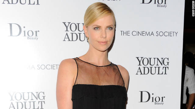 """I was pretty much a mess in primary school,"" Charlize Theron says."