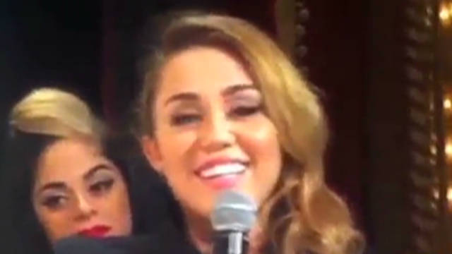 Miley Cyrus calls herself a 'stoner'
