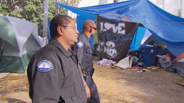 Occupy Los Angeles refuses to leave camp
