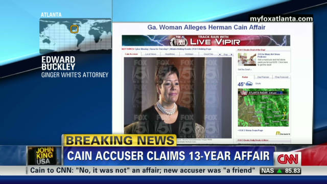 Attorney defends Cain accuser
