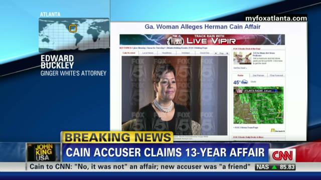 Attorney defends Cain accuser