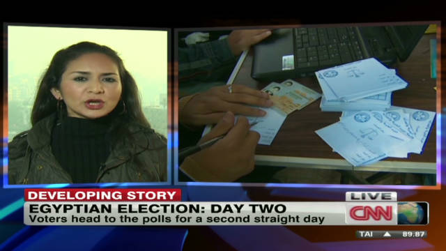 Egyptians head to polls for second day