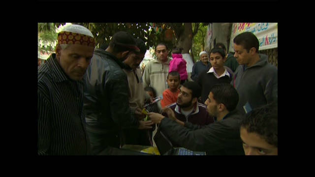 Voters optimistic in Egypt