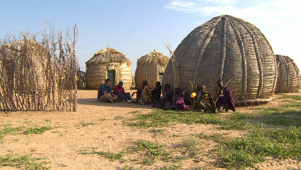 Turkana are living in traditional homesteads like in fewer numbers as they move into urban areas to find work.