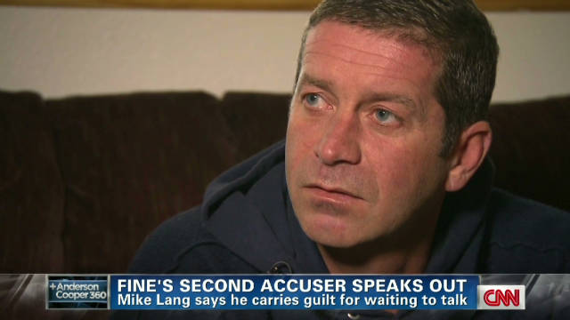 Bernie Fine accuser tells his story