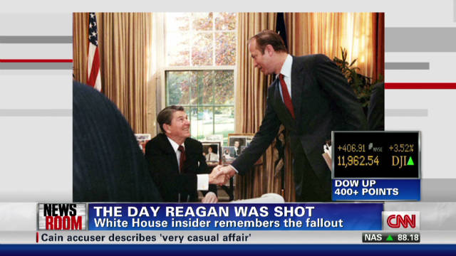 David Gergen describes Reagan attack
