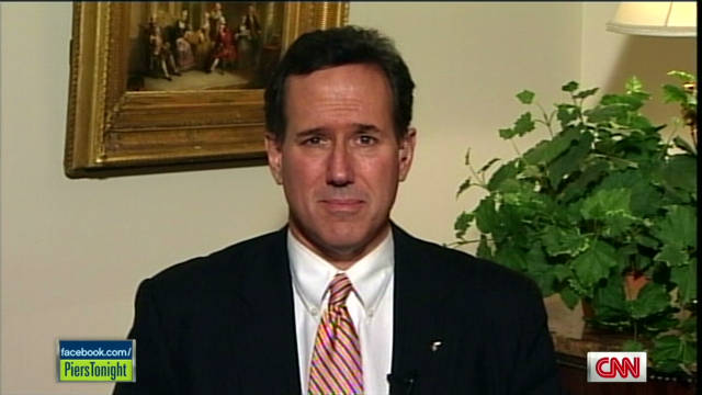 piers santorum cain prayer_00010402