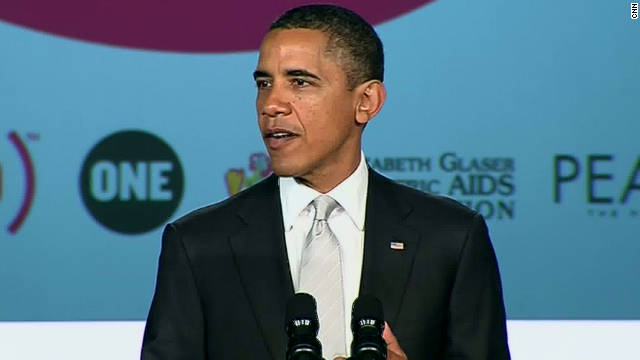 Obama's pledge on World AIDS Day