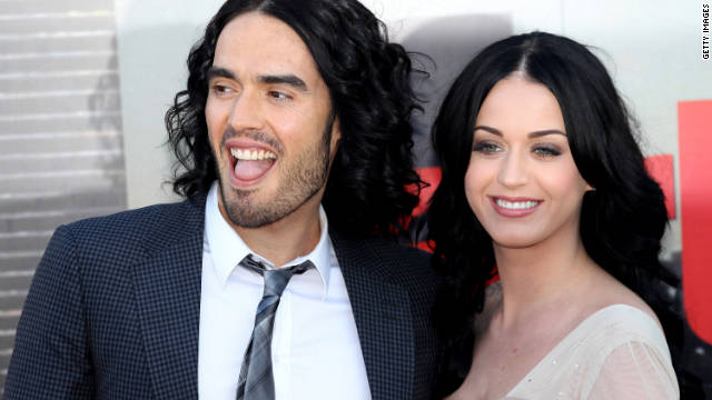 Russell Brand and Katy Perry were married in October 2010 in a lavish ceremony.