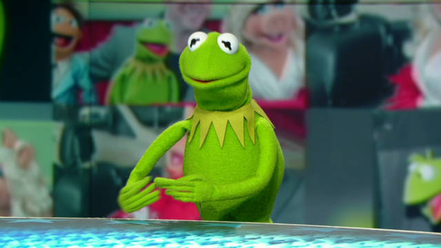 Kermit lobbying for inter-species dating