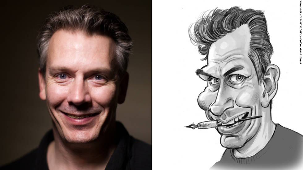 "Tom Richmond, 45, has ""only"" been contributing to Mad for 11 years. The Wisconsin native is an outstanding caricaturist and often illustrates movie and TV parodies."