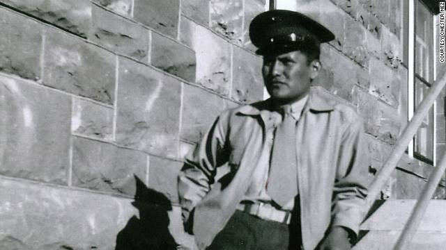 Last original Navajo code talker of WWII