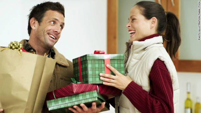 Two different types of Christmas shoppers can co-exist, even if they don't shop together.