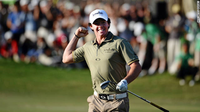 Rory McIlroy can end 2011 as European No.1 if he wins the Dubai World Championship next weekend.