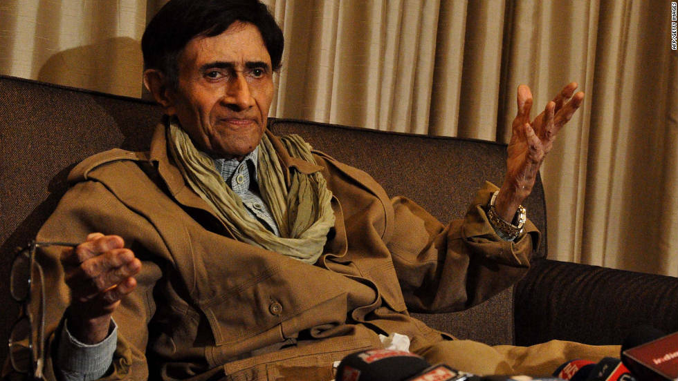 "Dev Anand, a Bollywood star, died of a heart attack December 4 at age 88. ""Dev Anand was a great artist who entertained generations of cinema lovers over five decades,"" said Indian Prime Minister Manmohan Singh. <a href=""http://articles.cnn.com/2011-12-04/asia/world_asia_india-bollywood-star-dies_1_bollywood-indian-film-industry-hare-rama-hare-krishna?_s=PM:ASIA"">Full story</a>"