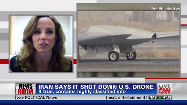 Townsend 'skeptical' of Iran drone claim