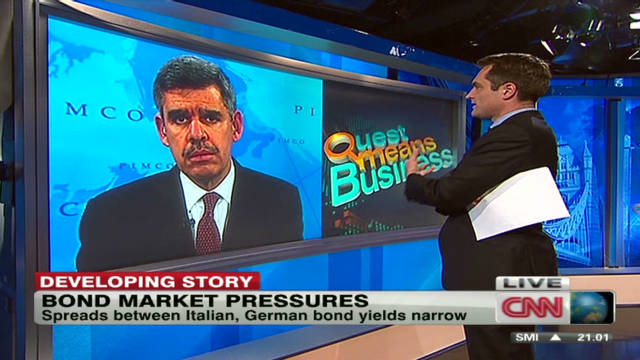 Bond market pressures in Europe