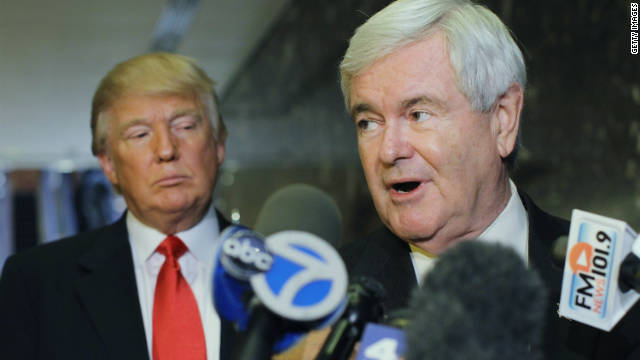 Gingrich: Trump dropping 'drain the swamp'