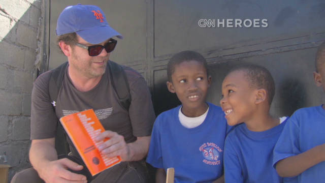 Actor inspired by Hero's impact in Haiti