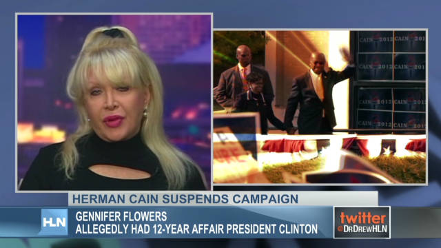 Gennifer Flowers talks Herman Cain