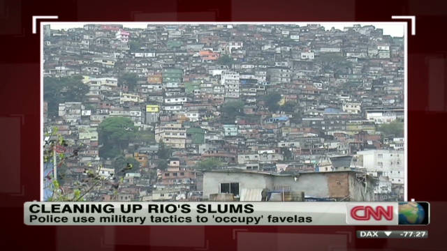 'Pacifying' Rio de Janeiro's favelas