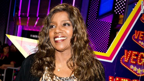 Gloria Gaynor receives a star on the Vegas City Walk of Fame in Moscow.
