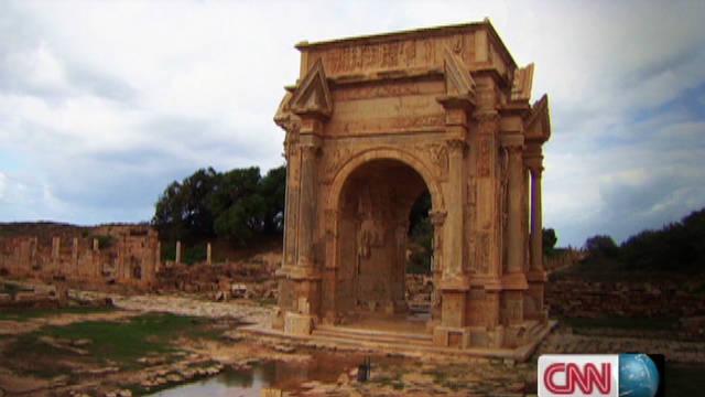A Roman city in Libya