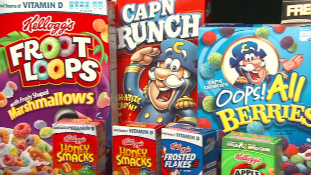 Concerns over sugary childrens' cereals