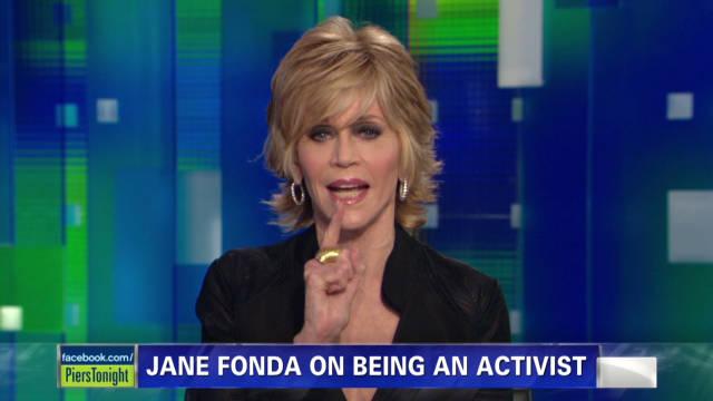 Jane Fonda takes aim at the media
