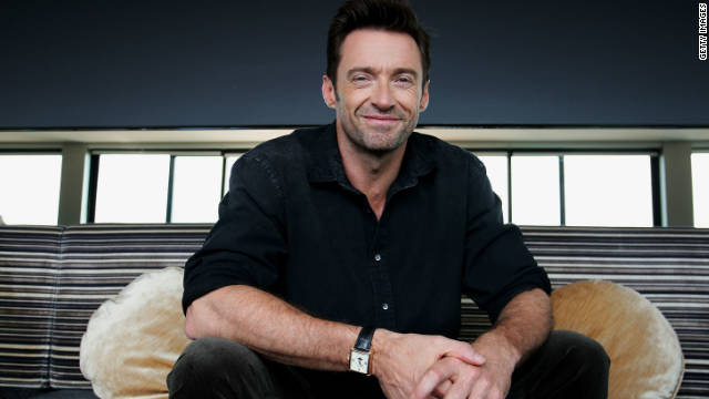 """I was mainly inspired by Paul Newman on the business level and what he did,"" Hugh Jackman said."