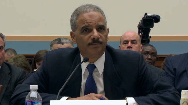Eric Holder grilled on gun program