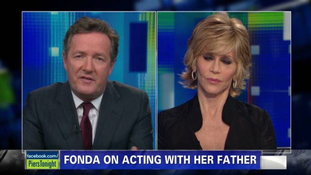 Jane Fonda on acting with her father