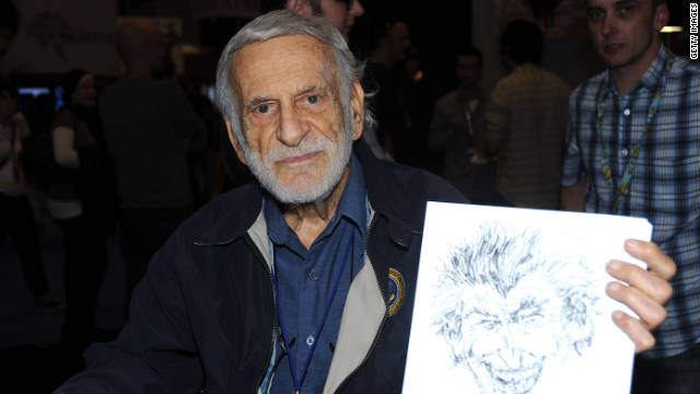 Jerry Robinson, a cartoonist who worked on the earliest Batman comics, died Thursday at the age of 89.
