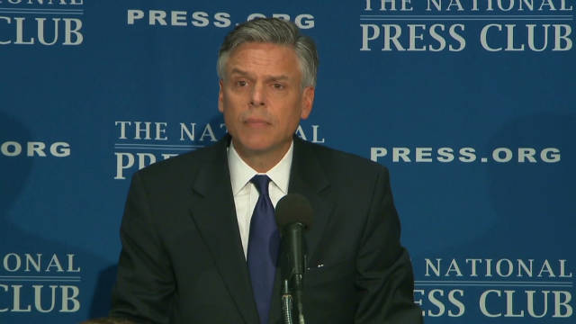 Huntsman: Gingrich, Romney bad as Obama
