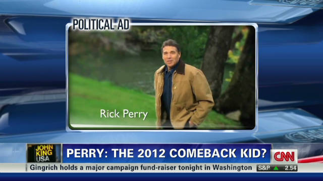Perry: The 2012 comeback kid?