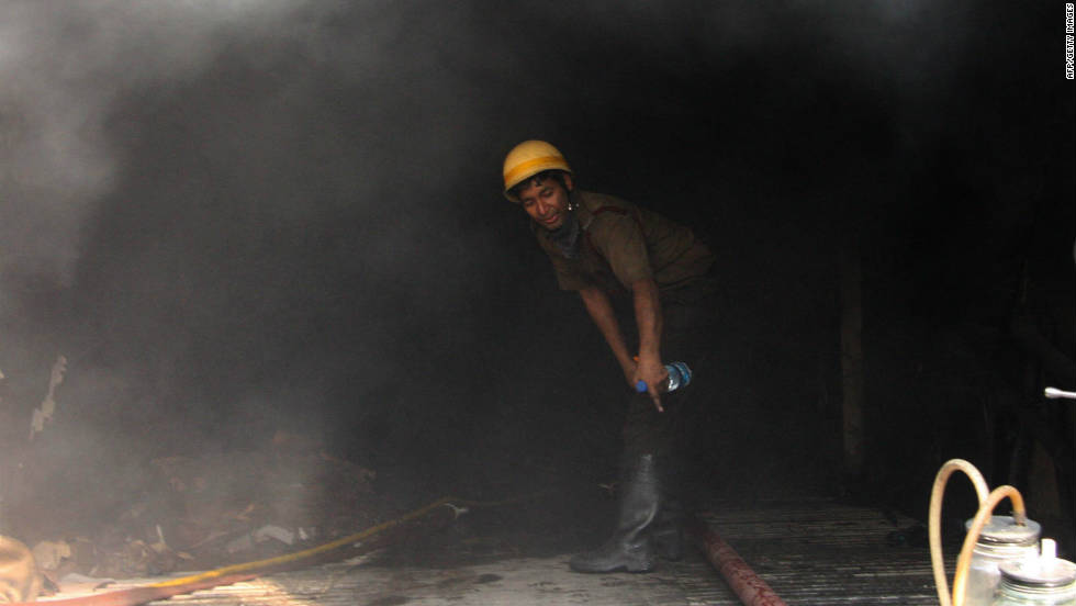 The deadly blaze started early Friday at the hospital in the eastern city of Kolkata