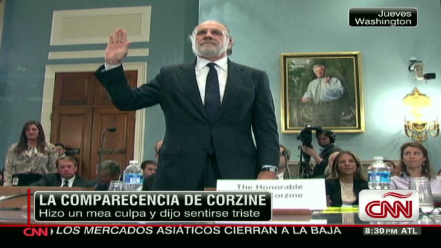 CNN Dinero Corzine/MF Global Vista_00010218