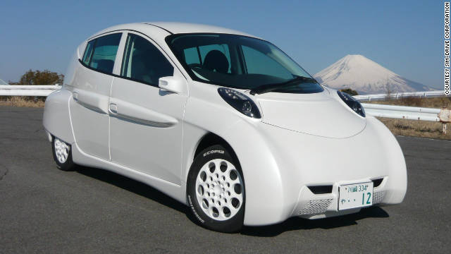 The SIM-LEI  electric car can travel 333 kilometers on a single charge, say its creators.